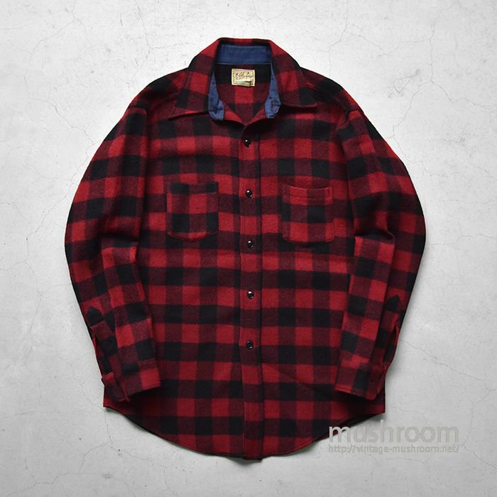 OLD PLAID WOOL SHIRT(16/DEADSTOCK/1)