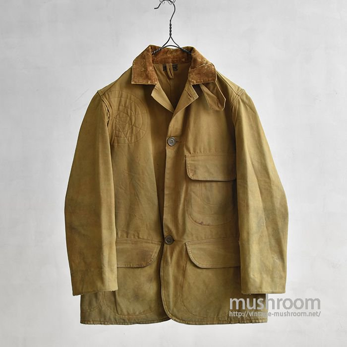 L.L.BEAN HUNTING JACKET WITH CHINSTRAP