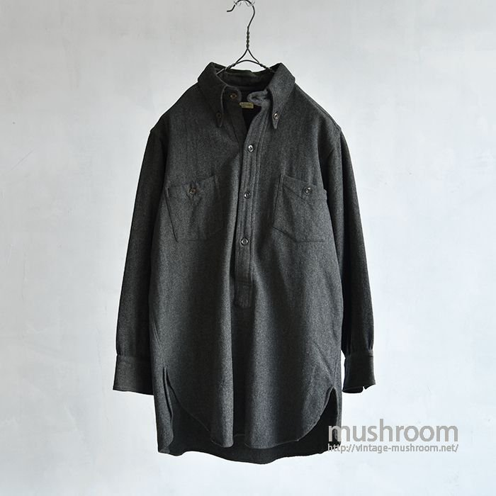 MARSHALL FIELD COMPANY WOOL SHIRT WITH CHINSTRAP
