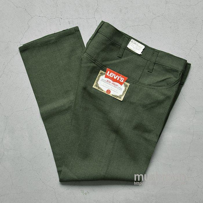 LEVI'S 516-9837 STA-PREST TAPERED PANTS( DEADSTOCK )
