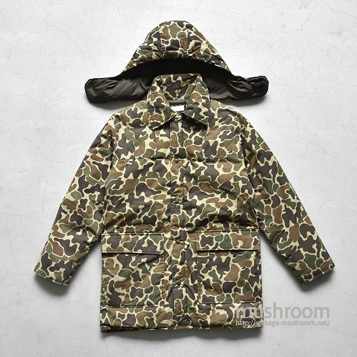 Charles Daly DUCK HUNTER CAMO PUFFY JACKET(SMALL)