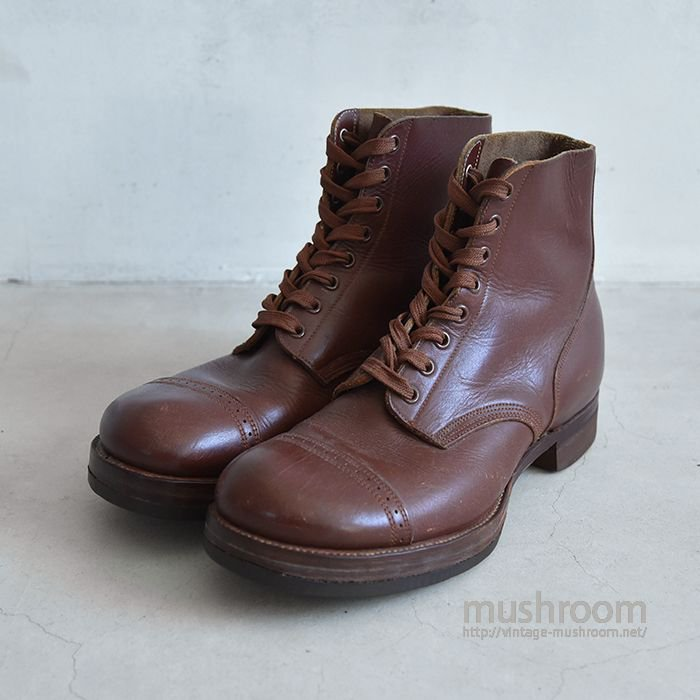 WW2 U.S.ARMY TYPE2 LEATHER BOOTS(8E/ALMOST DEADSTOCK)