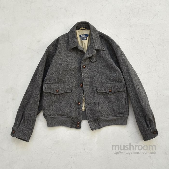 POLO BY RALPH LAUREN A-1 STYLE WOOL JACKET