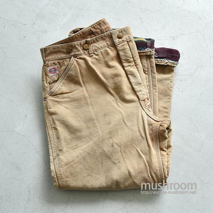CARHARTT BROWN DUCK WORK PANTS