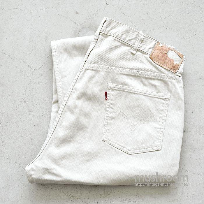LEVI'S 911B PIQUE PANTS(W40)