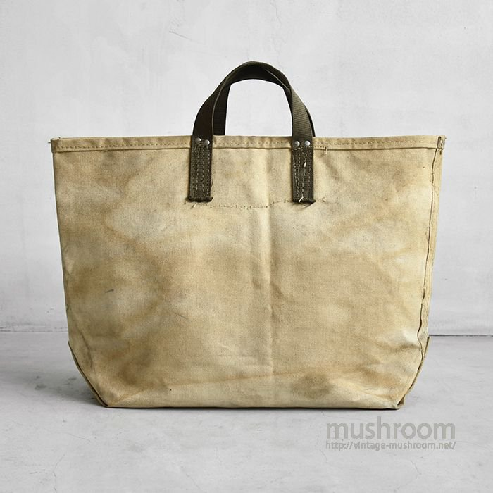 OLD TWO TONE CANVAS TOOL BAG
