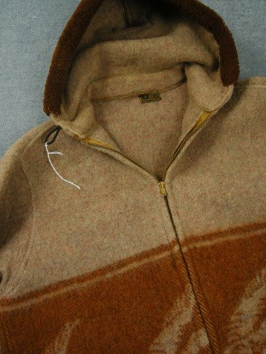 L.L.BEAN WOOL SPORTS JKT