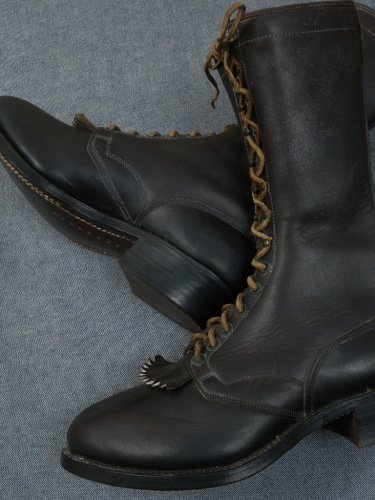 Montgomery Ward Logger's Boots