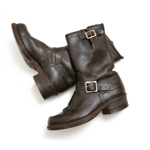 Herman Horsehide Engineer Boots