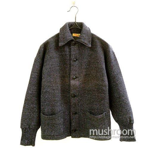 Lamb Knit Sweat Cardigan