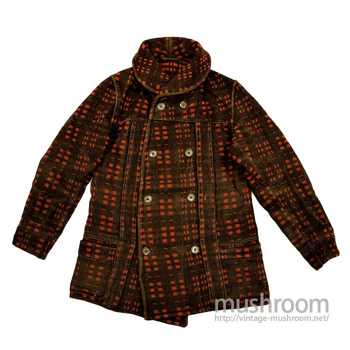 SHAWLCOLLER BLANKET MACKINAW COAT