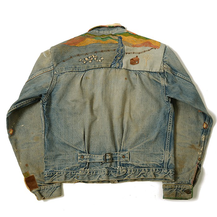 LEVIS 506XX DENIM JACKET With EMBROIDERY