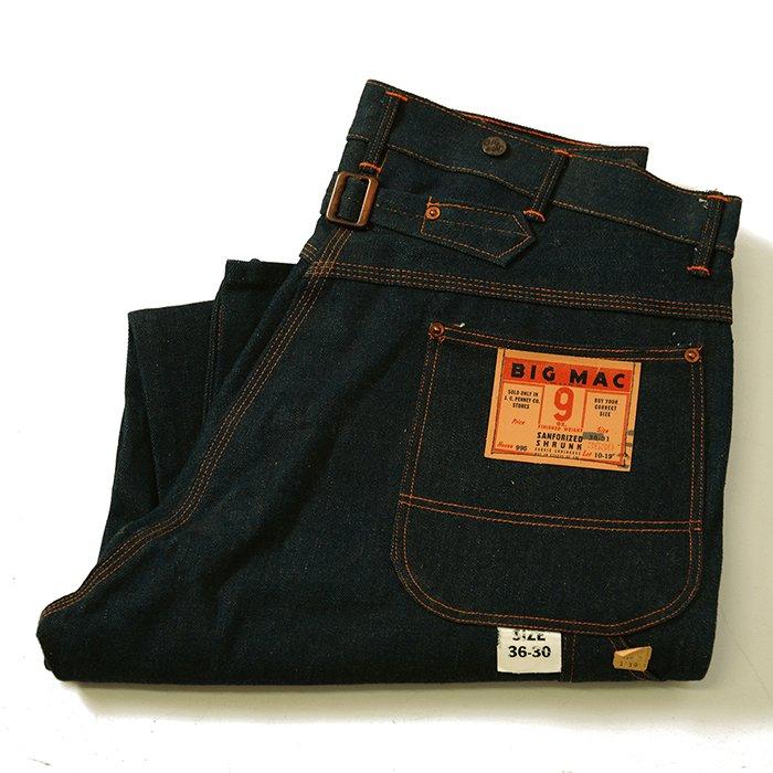 BIG MAC PAINTER PANTS With BUCKLE BUCK(DEADSTOCK)