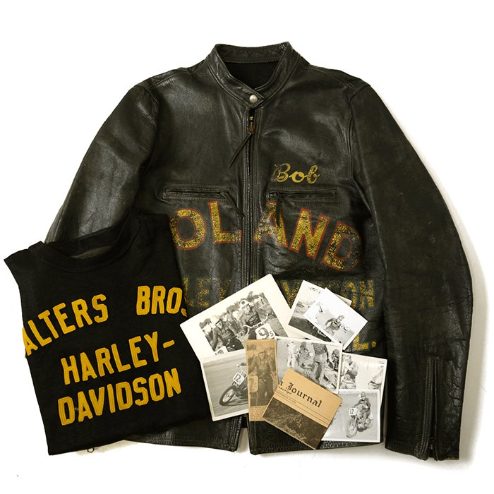 HARLEY-DAVIDSON CAFE RACER LEATHER JACKET