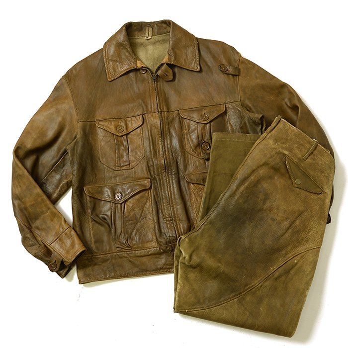 Mid-Western Hunting Leather Jacket & Pants