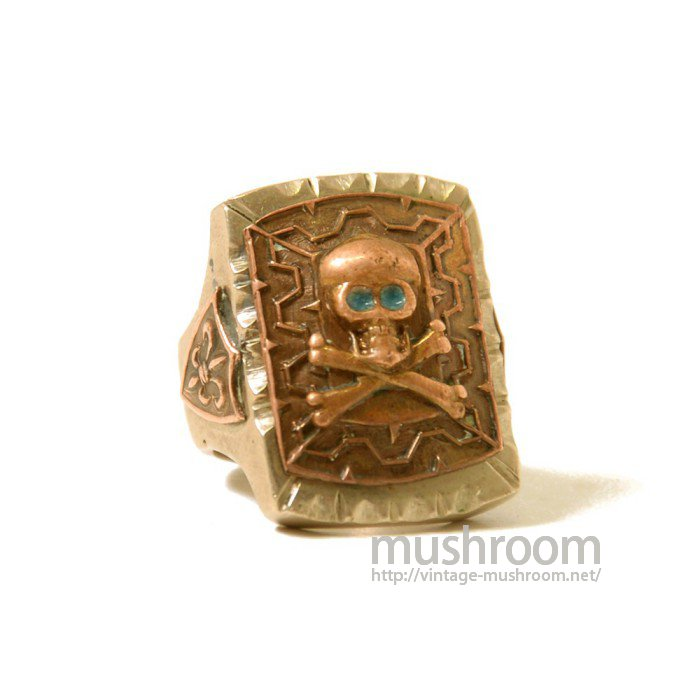 OLD MEXICAN'S RING(SKULL)