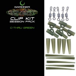 COVERT CLIP KIT  SESSION PACK  C-THRU GREEN