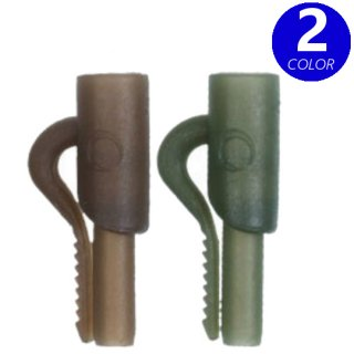 COVERT LEAD CLIPS  Green / Brown