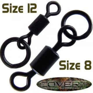 COVERT FLEXI-RING SWIVELS  Size8 / Size12