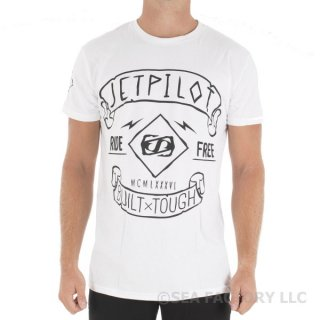 <img class='new_mark_img1' src='https://img.shop-pro.jp/img/new/icons5.gif' style='border:none;display:inline;margin:0px;padding:0px;width:auto;' />JETPILOT 2017 RIDE FREE MENS TEE(ホワイト)