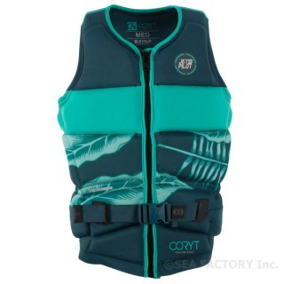 <img class='new_mark_img1' src='https://img.shop-pro.jp/img/new/icons5.gif' style='border:none;display:inline;margin:0px;padding:0px;width:auto;' />JETPILOT 2018 C4 RAPID DRY NEO VEST(ティール)