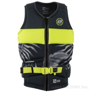 <img class='new_mark_img1' src='https://img.shop-pro.jp/img/new/icons5.gif' style='border:none;display:inline;margin:0px;padding:0px;width:auto;' />JETPILOT 2018 C4 RAPID DRY NEO VEST(チャコール/イエロー)