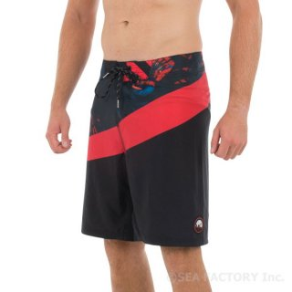 JETPILOT EARTHLY BOARDSHORT(ブラック/サーモン)
