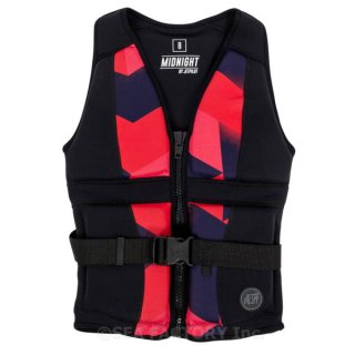 <img class='new_mark_img1' src='https://img.shop-pro.jp/img/new/icons5.gif' style='border:none;display:inline;margin:0px;padding:0px;width:auto;' />JETPILOT 2018 MIDNIGHT LADIES NEO VEST(ブラック/コーラル)