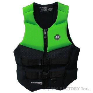 <img class='new_mark_img1' src='https://img.shop-pro.jp/img/new/icons5.gif' style='border:none;display:inline;margin:0px;padding:0px;width:auto;' />JETPILOT 2018 FREERIDE NEO VEST(ブラック/グリーン・Mサイズ)