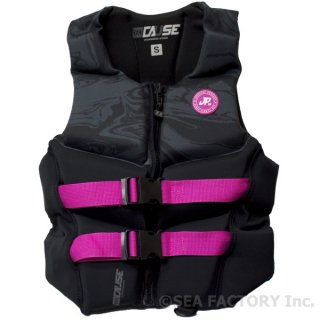 <img class='new_mark_img1' src='https://img.shop-pro.jp/img/new/icons5.gif' style='border:none;display:inline;margin:0px;padding:0px;width:auto;' />JETPILOT 2018 CAUSE LADIES NEO VEST(ブラック/マーブル)