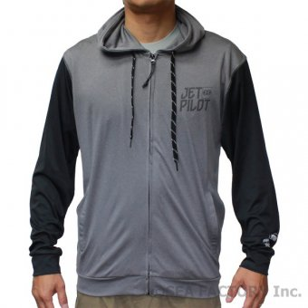 <img class='new_mark_img1' src='https://img.shop-pro.jp/img/new/icons5.gif' style='border:none;display:inline;margin:0px;padding:0px;width:auto;' />JETPILOT 2018 SHOWTIME MENS RASH HOODIE(アイスマーレ)