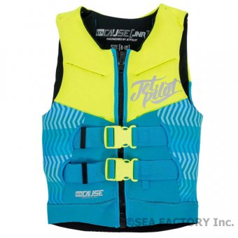 <img class='new_mark_img1' src='https://img.shop-pro.jp/img/new/icons5.gif' style='border:none;display:inline;margin:0px;padding:0px;width:auto;' />JETPILOT 2018 THE CAUSE KIDS NEO VEST(イエロー・4〜6歳)