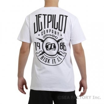 JETPILOT 2019 ROLLOUT MENS TEE(ホワイト・Mサイズ)
