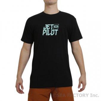 <img class='new_mark_img1' src='https://img.shop-pro.jp/img/new/icons5.gif' style='border:none;display:inline;margin:0px;padding:0px;width:auto;' />JETPILOT 2019 コープ メンズ Tシャツ(ブラック/ブルー・Mサイズ)