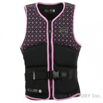 <img class='new_mark_img1' src='https://img.shop-pro.jp/img/new/icons5.gif' style='border:none;display:inline;margin:0px;padding:0px;width:auto;' />JETPILOT 2019 ALLURE LADIES NEO VEST(ブラック/ピンク)