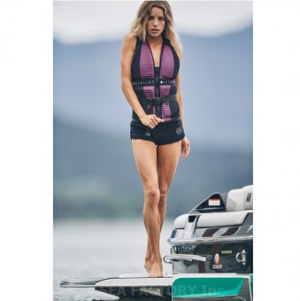 <img class='new_mark_img1' src='https://img.shop-pro.jp/img/new/icons5.gif' style='border:none;display:inline;margin:0px;padding:0px;width:auto;' />JETPILOT 2019 MIDNIGHT LADIES NEO VEST(ブラック/ピンク)
