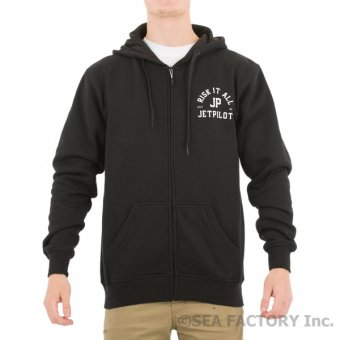 <img class='new_mark_img1' src='https://img.shop-pro.jp/img/new/icons5.gif' style='border:none;display:inline;margin:0px;padding:0px;width:auto;' />JETPILOT 2018 RISK IT ALL ZIP HOODIE(ブラック)