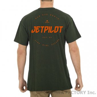 <img class='new_mark_img1' src='https://img.shop-pro.jp/img/new/icons5.gif' style='border:none;display:inline;margin:0px;padding:0px;width:auto;' />JETPILOT 2019 TARGET MENS TEE(ミリタリー・Mサイズ)
