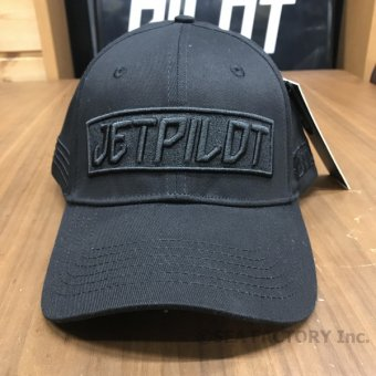 <img class='new_mark_img1' src='https://img.shop-pro.jp/img/new/icons5.gif' style='border:none;display:inline;margin:0px;padding:0px;width:auto;' />JETPILOT 2019 BUILT MENS CAP(ブラック)