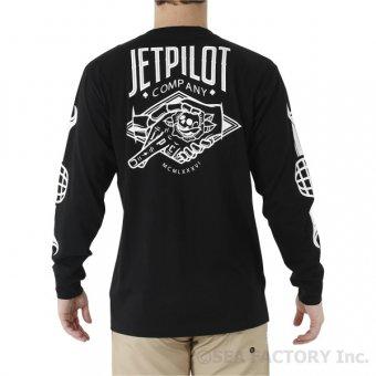 JETPILOT 2019 ヒッター メンズ L/S ティ(ブラック)