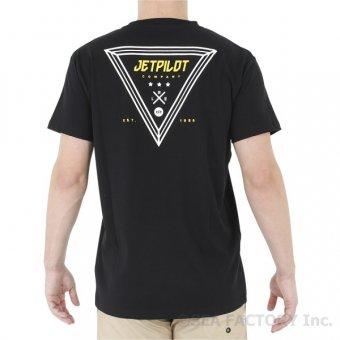 <img class='new_mark_img1' src='https://img.shop-pro.jp/img/new/icons5.gif' style='border:none;display:inline;margin:0px;padding:0px;width:auto;' />JETPILOT 2019 バミューダ メンズ Tシャツ(ブラック)