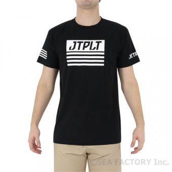 <img class='new_mark_img1' src='https://img.shop-pro.jp/img/new/icons5.gif' style='border:none;display:inline;margin:0px;padding:0px;width:auto;' />JETPILOT 2019 マトリックス メンズ Tシャツ(ブラック)