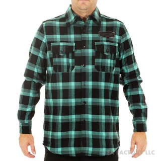 <img class='new_mark_img1' src='https://img.shop-pro.jp/img/new/icons47.gif' style='border:none;display:inline;margin:0px;padding:0px;width:auto;' />JETPILOT FABRICATED W15 FLANNEL(ティール・Sサイズ)
