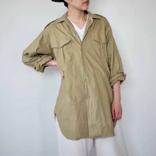 <img class='new_mark_img1' src='//img.shop-pro.jp/img/new/icons30.gif' style='border:none;display:inline;margin:0px;padding:0px;width:auto;' />1950's French ARMY SHIRTS