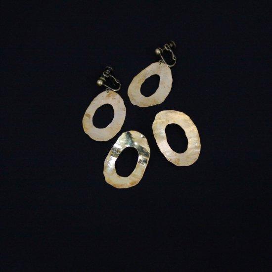 Art Jewelry Marble  大きなオー  [  真鍮  ]