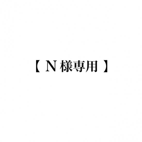 <img class='new_mark_img1' src='https://img.shop-pro.jp/img/new/icons47.gif' style='border:none;display:inline;margin:0px;padding:0px;width:auto;' />【 N 様専用 】