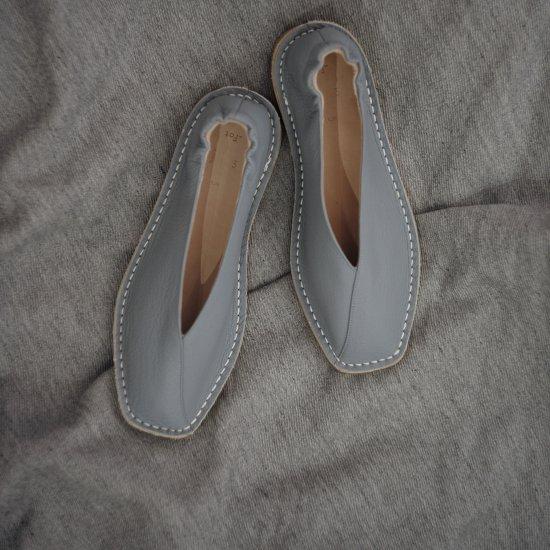_Fot   フォート square shrink crepe   [ blue gray  ]