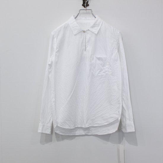 <img class='new_mark_img1' src='https://img.shop-pro.jp/img/new/icons47.gif' style='border:none;display:inline;margin:0px;padding:0px;width:auto;' />ゴーシュ ブロードシャツ 襟付き [ホワイト]