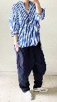 【sale!!】  ストライプのゆったりシャツ