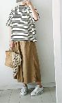 【sale!!】  コットンテンセルのバルーンスカート